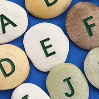 Alphabet Inchies Round 2: q, c, p, b, e