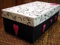 Themed shoebox: Love FEB 2012