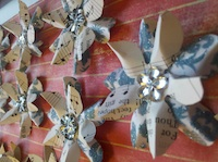 Handmade Paper Flower Swap