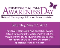 National Fibromyalgia Awareness Day ~ May 12th, 20