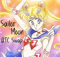 Sailor Moon ATC Swap