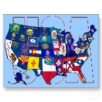 November - 11th Month - 11 Postcards - USA