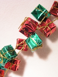 Book Page ATC #8 - Christmas