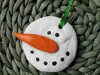 Christmas Ornament Swap  May ~ Snowman