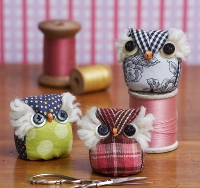 Owl Pin Cushion (instruction link added)