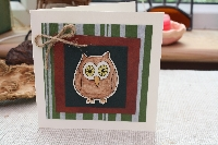 Handmade Card Challenge -- OWLS
