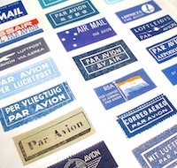 Airmail labels swap (1 per country) #5
