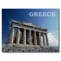 Postcards through cultures - Greece