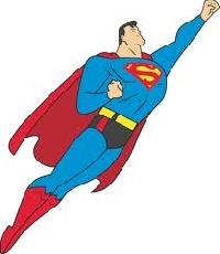 Superman Postcard