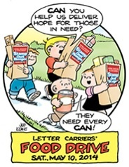 Stamp Out Hunger food drive PC challenge!