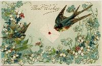Spring Postcard swap