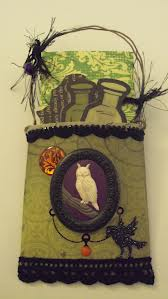 Whimsy Halloween Pocket Ornament Swap