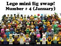 Lego mini fig swap! Number # 4 (January)