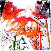 SWL ~ Art Journal Pages Part 1, #2