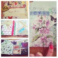 SWL ~ handmade smash/junk book #3