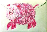 WIYM:  Doodle Mail Art Swap