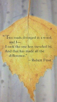 Poetry on a Postcard # 3-Robert Frost