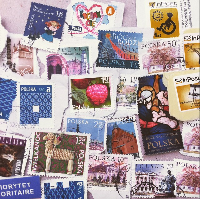 Stamps & Airmail Label Swap