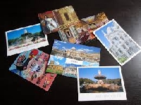 4 profile based postcards to 4 partners #10