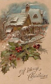MONTHLY CHRISTMAS POSTCARD SWAP #80--MAY 2016