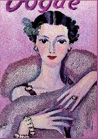 AACG:  Lady in Purple ATC