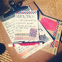 Happy Mail ☆ Mail Tag Swap ☆