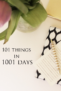 101 Things Progress- June 2016