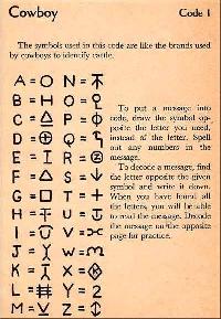 Secret Code Postcard #1