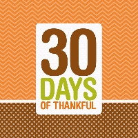 TCHH~ 30 Days of Thankfulness
