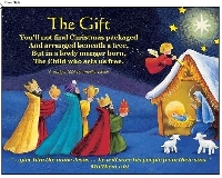IS ~ Homemade Christmas Postcard ~ USA