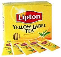 WIYM: tea envelope YELLOW ~ INTL
