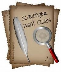 Writers Scavenger Hunt