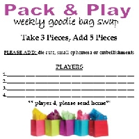 Pack & Play - Goodie Bag Swap #6