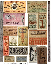 WIYM: Authentic VINTAGE Ephemera Swap
