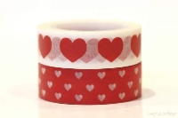 WOW: ♡♡ Heart Washi Tape Samples ♡♡