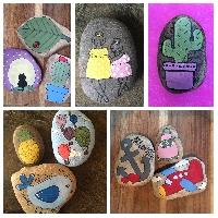 Rock Painting - B