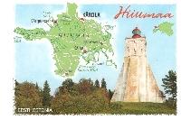 Three Maps and a Random Postcard #1