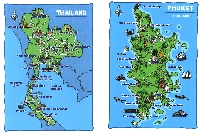 2 Map Postcard (blank and in envelope)