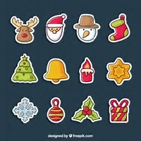 Christmas Stickers in July!!