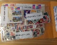 TIAZ: Stamps in a baggie-INTERNATIONAL