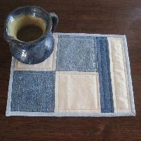 Up-cycle a MUG rug! Using jean material!