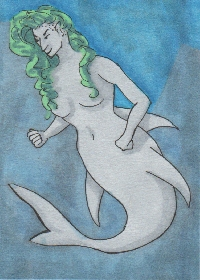 More Mermaid ATCs!