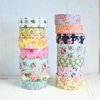 WOW: ❀ Floral Washi Tape Samples ❀