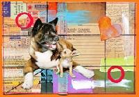 EJ: National Dog Day postcard