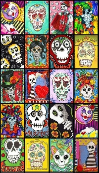 ATC: Dia de los Muertos (Day of Dead)