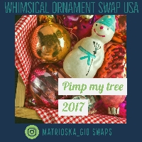 Whimsical ornament Swap/Pimp my 🎄 2017