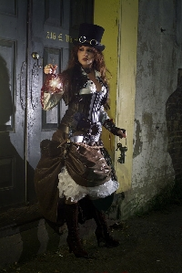 Steampunk Postcard - UK Only