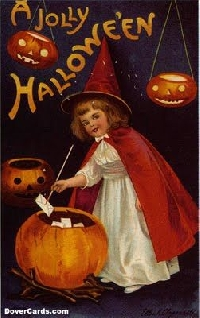 Halloween Postcards - International