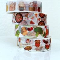WOW: ‣ Food Washi Tape Samples