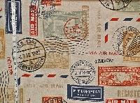 Mail Art - Happy Mail - Postal Theme